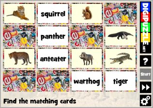 Animal games | Digipuzzle net