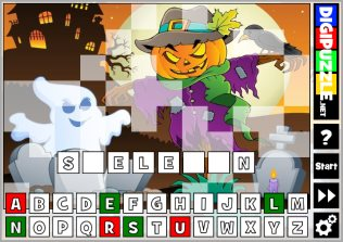 Halloween games | Digipuzzle.net