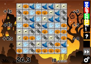Halloween games   Digipuzzle.net