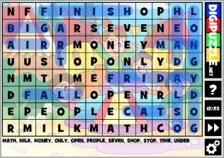 Kids Wordsearch Puzzles