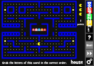 Pacman Words