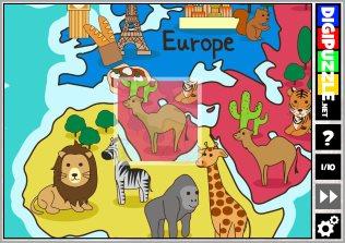 Kindergarten games | Digipuzzle net