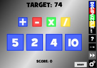 Math games | Digipuzzle net