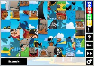 Pirate games | Digipuzzle net