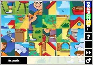 Summer games | Digipuzzle net
