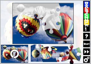 Air Balloon Puzzles